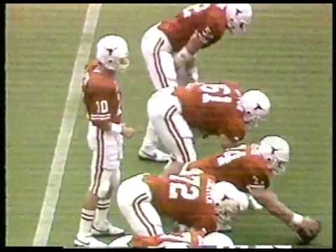 Photo of NCAA Football – 1986 – SWC Game of the Week – Texas Longhorns VS Texas Tech Red Raiders