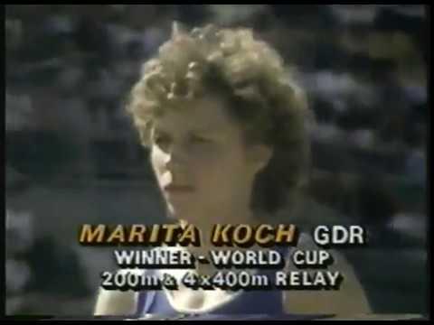 Photo of Track & Field – 1985 – IAAF World Cup – Womens 400m & 4 x 100m – Mens 200m & 5000m & 4 x 100m
