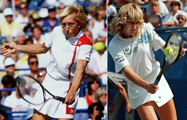 Photo of Tennis – 1987 – Wimbledon Women's Finals – Martina Navratilova VS Steffi Graf