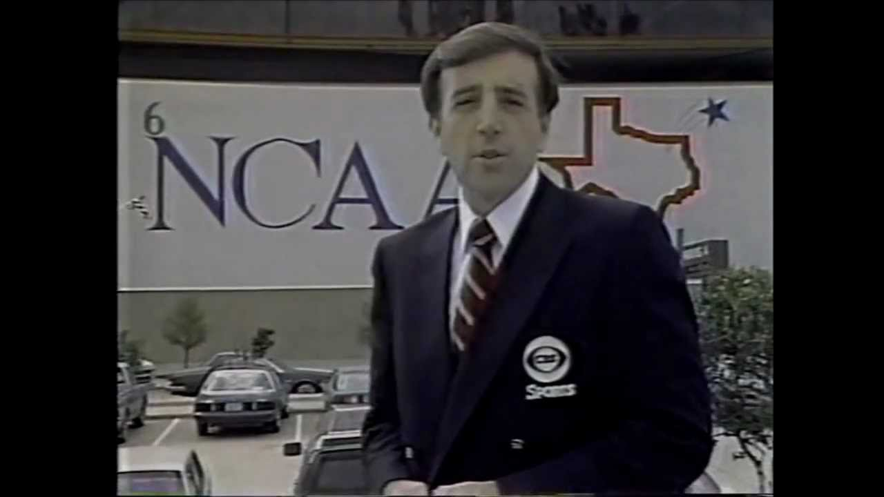 Photo of NCAAM Basketball – 1985 – CBS Preview NCAAM & NCAAW Tourney – Hosts Brent Musberger & Billy Packer