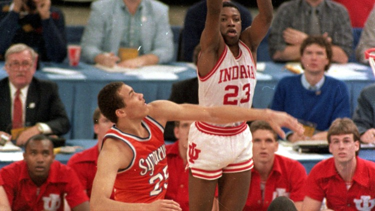 Photo of NCAAM Basketball – 1987 – NCAA Finals – Syracuse Orangemen VS Indiana Hoosiers