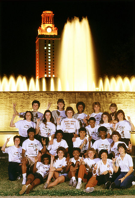 Photo of NCAAW Basketball – 1986 – NCAA Womens Championship Game – Texas Lady Longhorns VS USC Women Of Troy