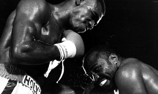 Photo of Boxing – 1986 – 15 Rnd Crusierweight Championship – Champ Dwight Muhhamad Qawi VS Evander Holyfield