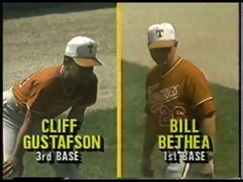 Photo of NCAA Baseball – 1987 – College World Series – Texas Longhorns VS Arkansas Razprbacks – Innings 3 & 4