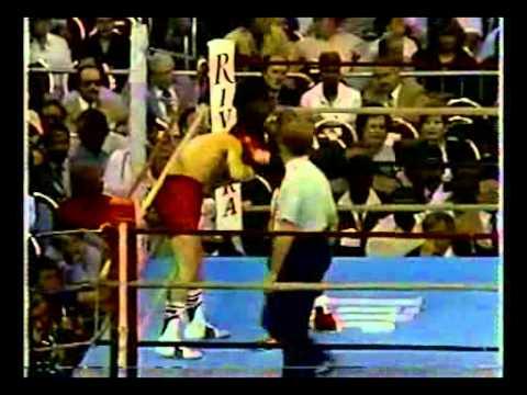Photo of Boxing – 1985 – WBC Super Featherweight Title – Julio Cesar Chavez VS Dwight Pratchett – Rnds 4 – 12