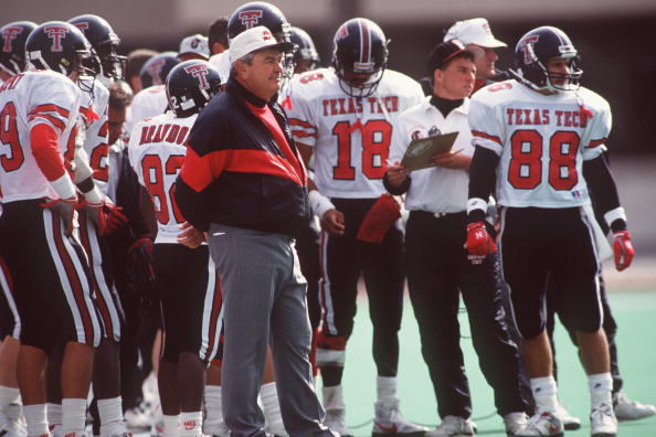 Photo of NCAA Football – 1987 – SWC Game Of Week – Texas Tech Red Raiders Vs Texas Longhorns – 3rd Qtr