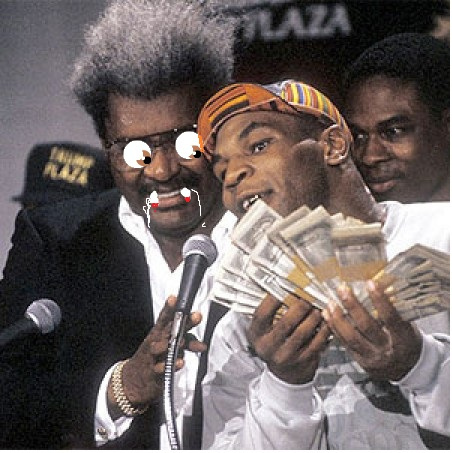 Photo of Boxing – 1987 – Special – Promoter Don King Salutes US Marine Corps – In D Day Dynamite