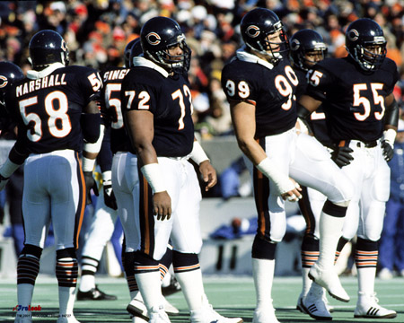 Photo of NFL – 1985 – NFC Divisional Playoffs – Chicago Bears Vs New York Giants – 4th Qtr