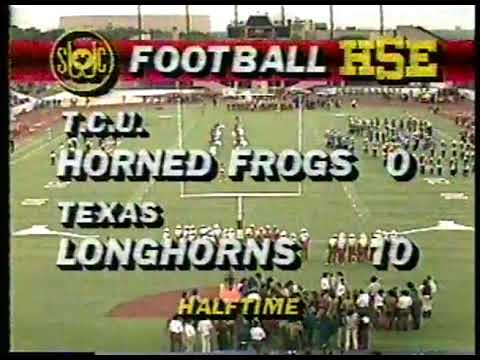 Photo of NCAA Football – 1985 – SWC Game Of Week – Texas Longhorns Vs TCU Horned Frogs – 4th Qtr