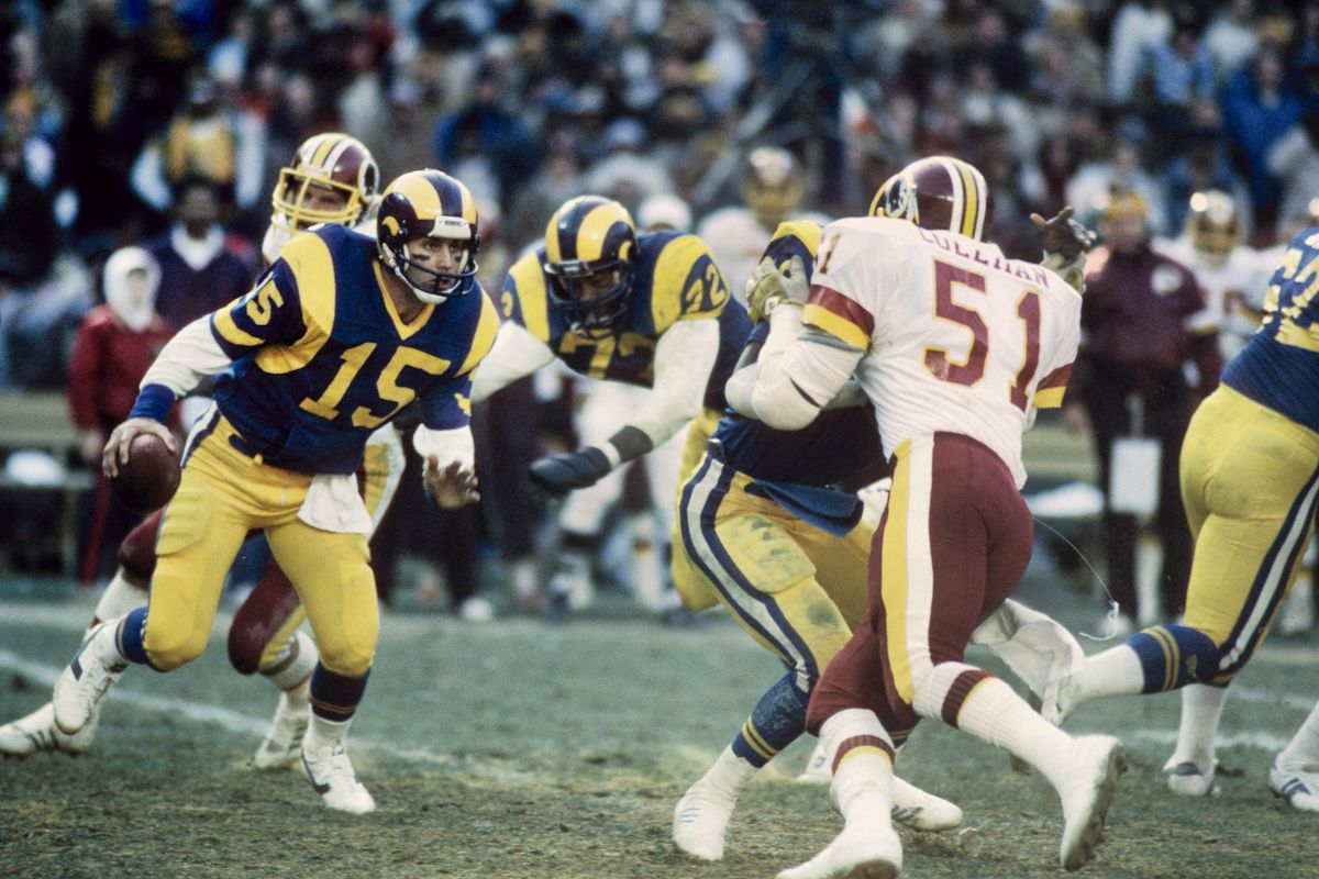 Photo of NFL – 1986 – NFC Wild Card Game – Los Angeles Rams Vs Washington Redskins – 1st Qtr