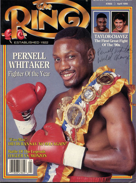 Photo of Boxing – 1985 – 6 Round Lightweight Bout – Pernell Sweet Pea Whitaker VS Teddy Hatfield