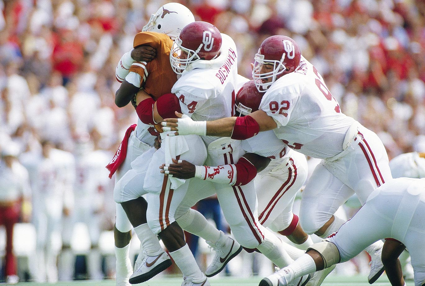 Photo of NCAA Football – 1985 – Special – Interview With Texas Freshman RB Charles Hunter