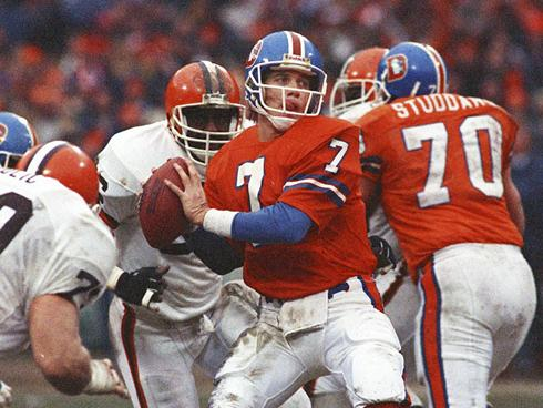 Photo of NFL – 1986 – NBC Halftime Highlights – AFC + NFC Titles – Broncos Vs Browns + Redskins Vs Giants