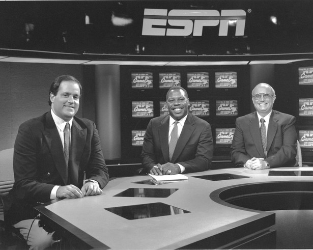 Photo of NFL – 1987 – ESPN Special – NFL Prime Time – With Tom Jackson + Chris Berman + Pete Axthelm