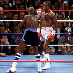 Photo of Boxing – 1987 – CBS Sports – Boxing Year In Review – Hosts Tim Ryan + Gil Clancy