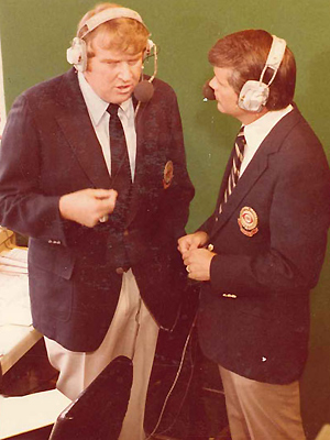 Photo of NFL – 1985 – CBS Sports Sunday – Host Gary Bender + Terry Bradshaw + John Madden + Tom Landry
