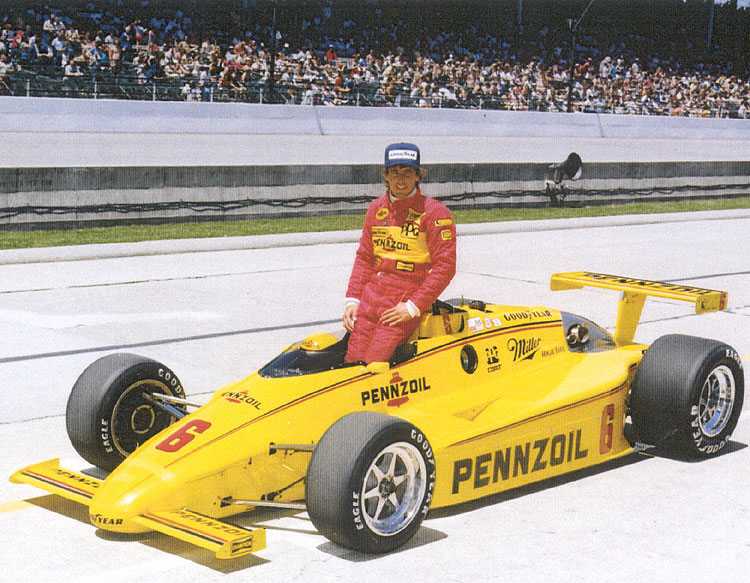 Photo of Auto Racing – 1984 – Indianapolis 500 – Rick Mears Winner – Final 30 Laps