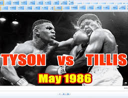 Photo of Boxing – 1986 – 10 Round Heavyweight Bout – Mike Tyson Vs James Tillis