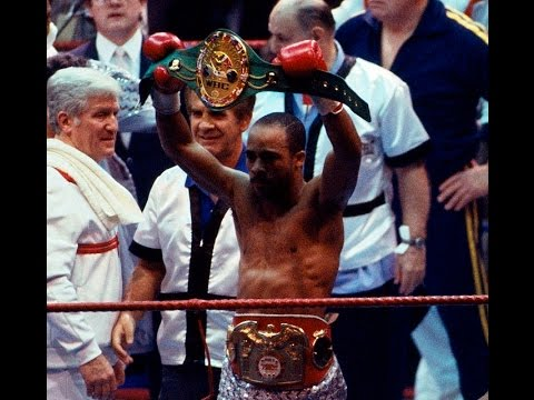 Photo of Boxing – 1987 – 15 Round IBC World Welterweight Title – Lloyd Honeyghan Vs Johnny Bumphus