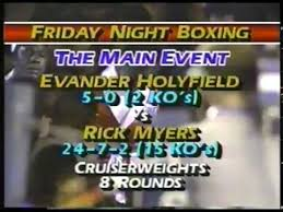 Photo of Boxing – 1985 – 8 Round Cruiserweight Bout – Evander Holyfield Vs Rick Myers