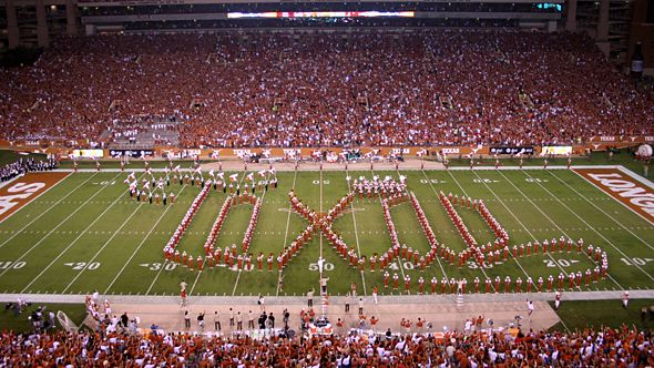 Photo of Music – 1986 – University Of Texas Show Band Of The Southwest – Halftime At The Bluebonnet Bowl