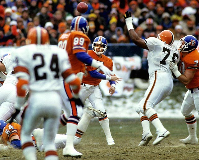 Photo of NFL – 1986 – AFC Championship Game – Denver Broncos Vs Cleveland Browns