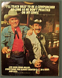 Photo of TV Ads – 1981 – Billy Martin For Lite Beer + Selsen Blue + Tecate Beer + Pepsi Cola + KXAN Ch 36