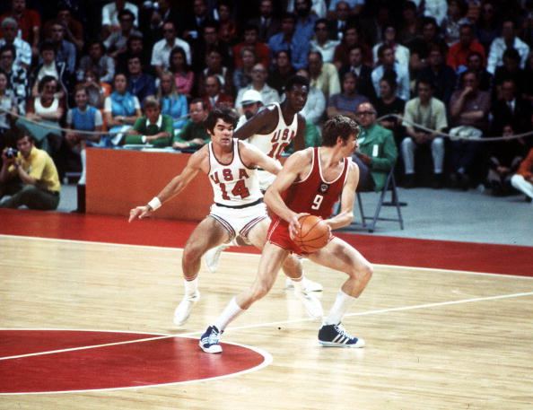 Photo of Basketball – 1982 – FIBA 9th World Championships – USA Vs USSR – 2nd Half