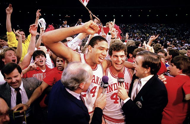 Photo of NCAAM Basketball – 1987 – NCAA Finals – Syracuse Orangemen Vs Indiana Hoosiers
