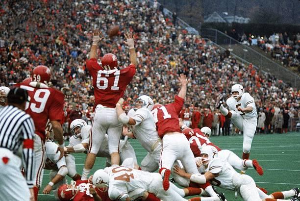 Photo of NCAA Football – 1985 – SWC Game of Week – Texas Longhorns VS Arkansas Razorbacks – 2nd Half