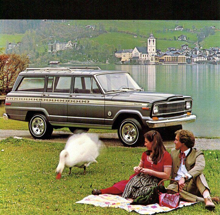 Photo of TV Ads – 1985 – Jeep Cherokee Car + The Atlantic Financial Money Market