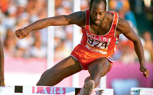 Photo of Olympics – 1984 – L A Games – Day 9 – Track – Women's 400m + 100m + Volleyball & Men's 400m Hurdles