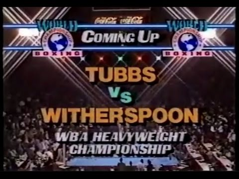 Photo of Boxing – 1986 – Special – HBO Prefight – WBA Heavyweight Title – Tim Witherwspoon Vs Tony Tubbs