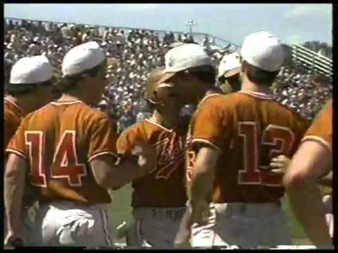 Photo of NCAA Baseball – 1987 – College World Series – Texas Longhorns Vs Arkansas Razorbacks – Innings 1 + 2