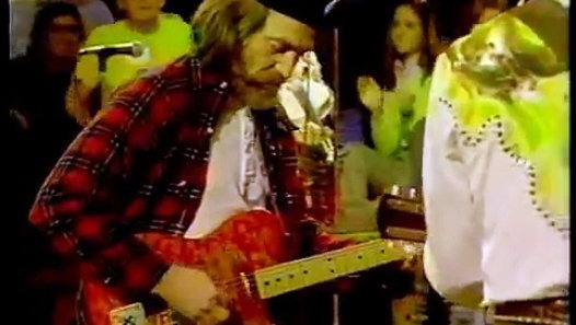 Photo of Music – 1978 – Austin City Limits – Johnny Rodriquez + Willie Nelson – Jambalaya