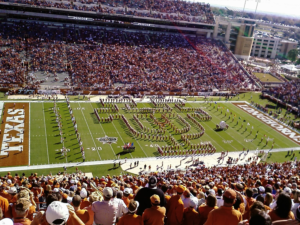 Photo of Music – 1984 – Halftime Show – Texas Vs OU – Longhorns Show Band Of The Southwest