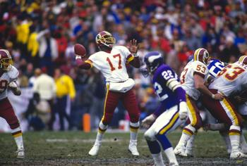Photo of NFL – 1987 – NFC Championship – Vikings VS Redskins – 1st Qtr – Summerall + Madden