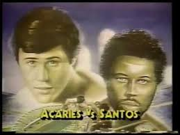 Photo of Boxing – 1985 – 15 Round IBF Junior Middleweight Title – Champ Carlos Santos Vs Louis Acaries
