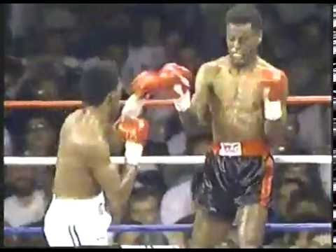 Photo of Boxing – 1987 – 12 Round USBA Junior Middleweight Title Fight – Donald Curry Vs Tony Montgomery