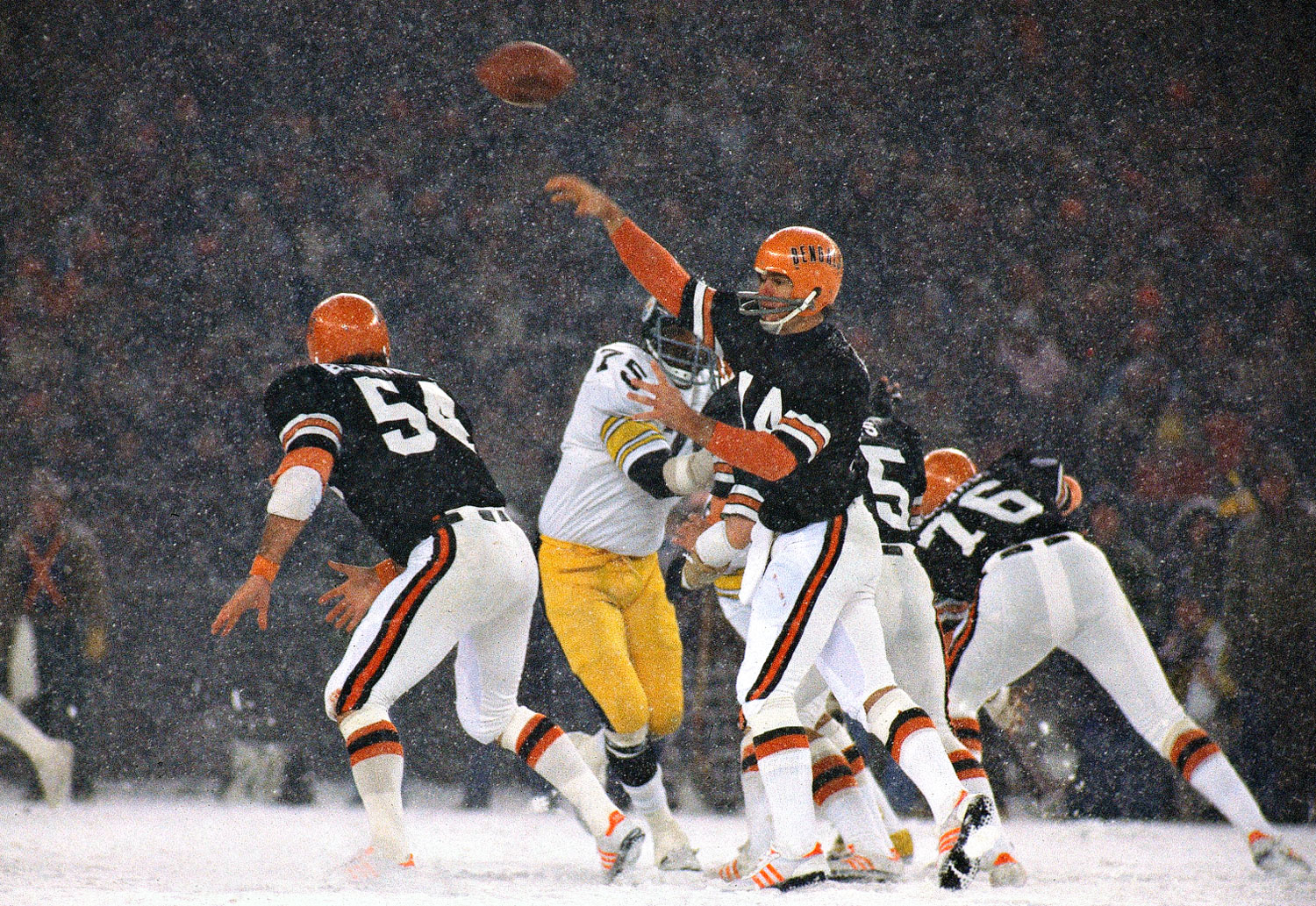 Photo of NFL – 1981 – Special – Bengals Who Came In Front In The Cold – The 1981 Cincinnati Bengals