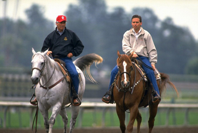 Photo of Horse Racing – 1987 – Special – A Look Inside D Wayne Lukas + Jeff Lukas Training