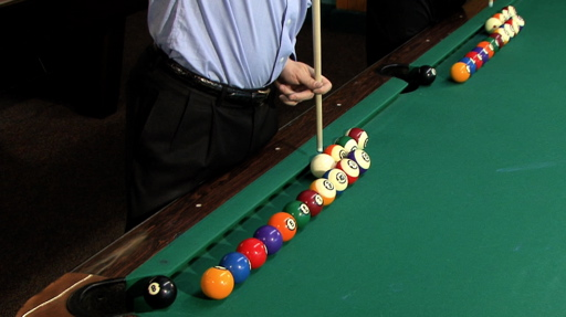 Pool ABC Special Great Trick Shots Host Howard Cosell - Lipscomb pool table