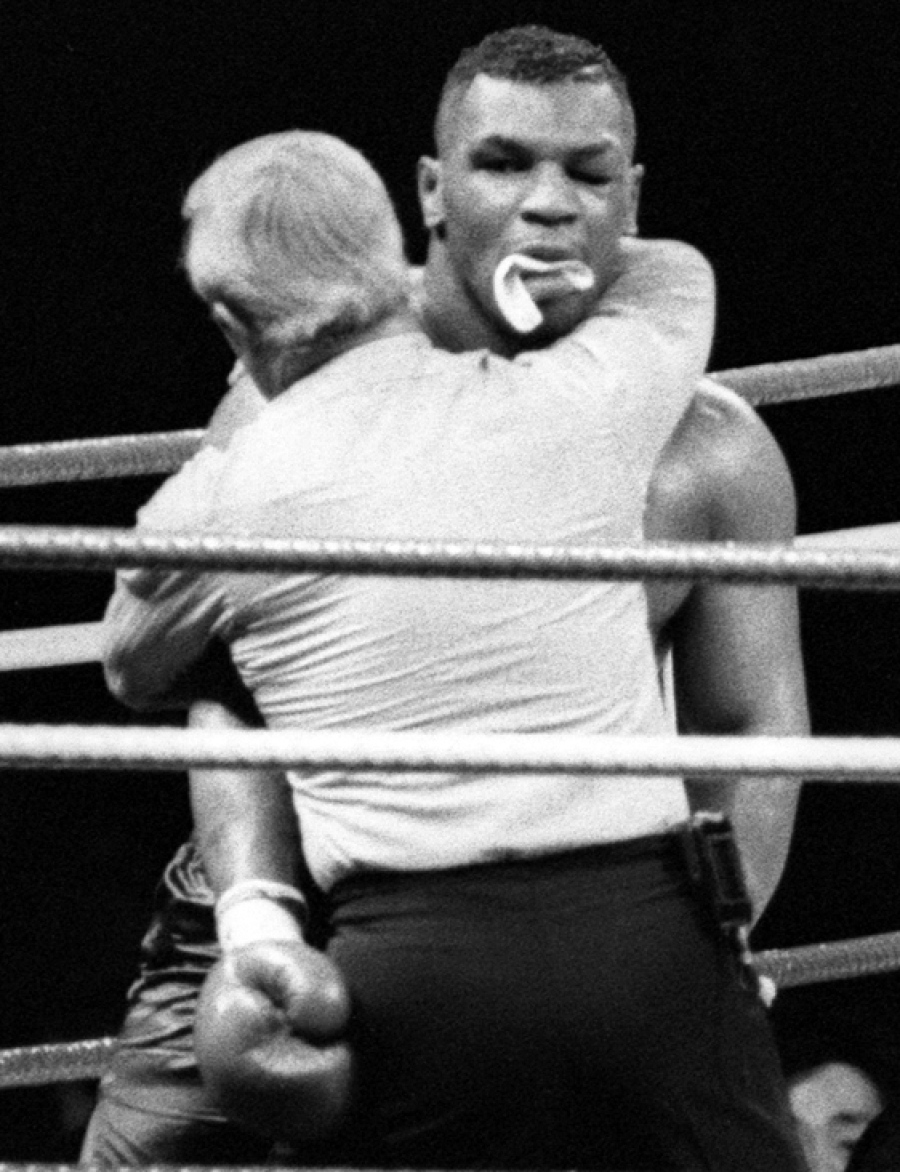 Photo of Boxing – 1990 – HBO Jim Lampley + Larry Merchant Review Buster Douglas 10th Rnd KO Of Mike Tyson