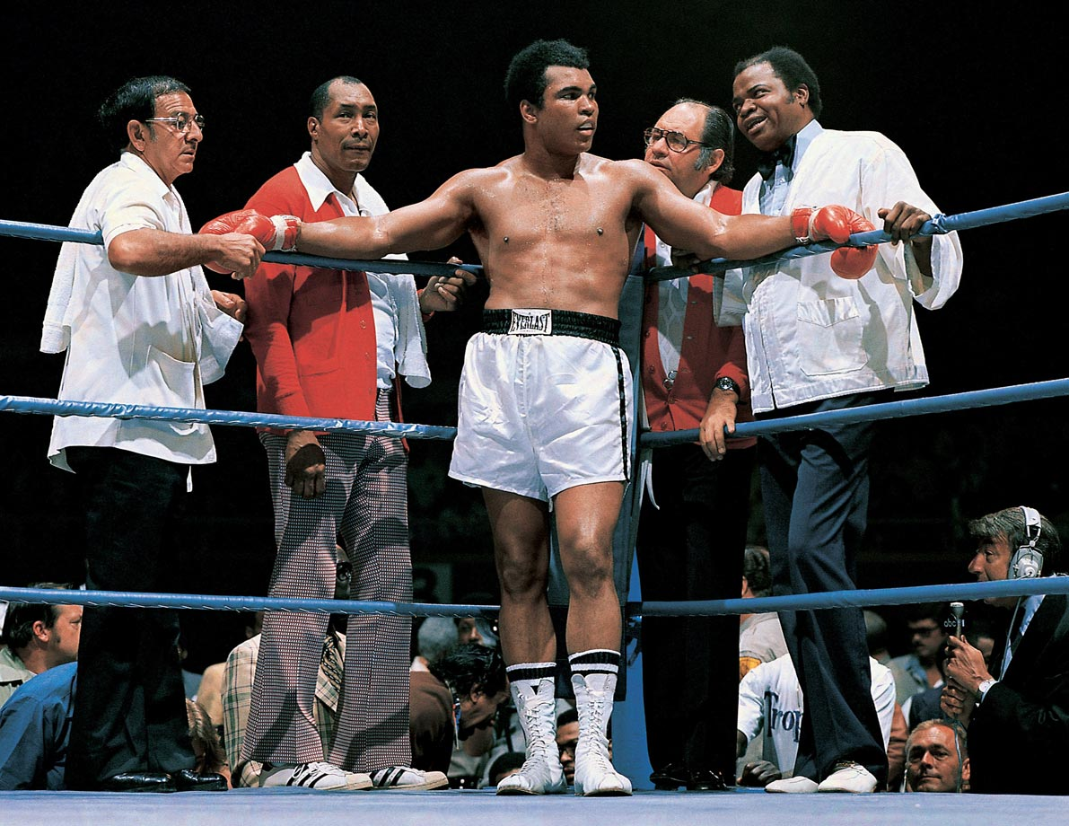 Photo of Boxing – 1974 – The Rumble In The Jungle Ali Vs Foreman – Marv Albert Interviews Angelo Dundee