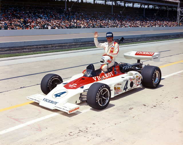 Photo of Auto Racing – 1986 – ABC Sports Indy 500 Special – The End Of The Day For Driver Johnny Parsons