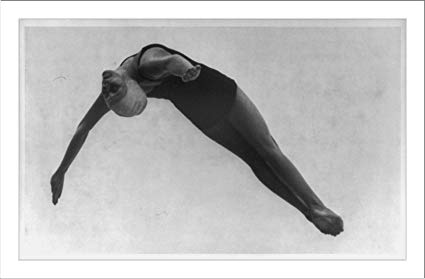 Photo of Olympics – 1936 – ABCs Jim McKay Showcases USA Marjorie Gestring Winning    Springboard Diving Gold