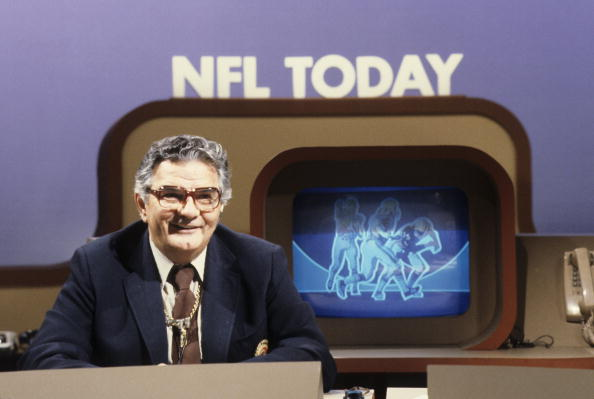 Photo of NFL – 1986 – CBS Sports NFC Championship Game Special – The Predictions With Jimmy The Greek + Brent Musburger