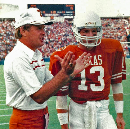 Photo of NCAAF – 1984 – ABC Sports Freedom Bowl Hilites Iowa Vs Texas + Locker Room Speech Texas Coach Akers