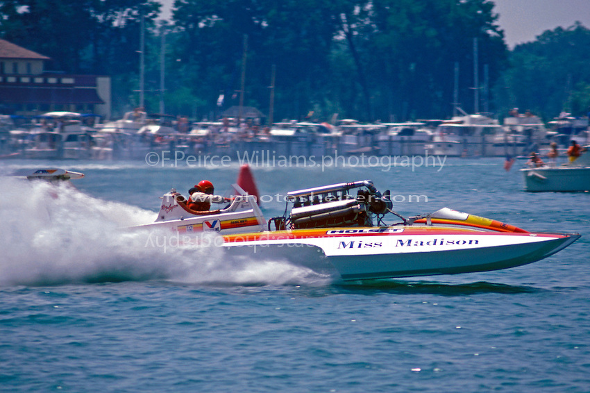 Photo of Speed Boat Racing – 1987 – Emerald Cup Championship – Interview Of Miss Madison Spokesman Bob Hughes