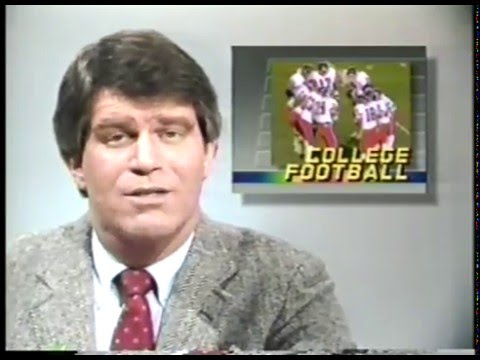 Photo of Special   1985   ESPN SportsCenter With David Sullivan   Featuring NHL + College Football + College